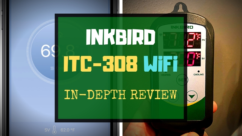 Inkbird ITC-308 WiFi Review [Homebrew Temperature Controller