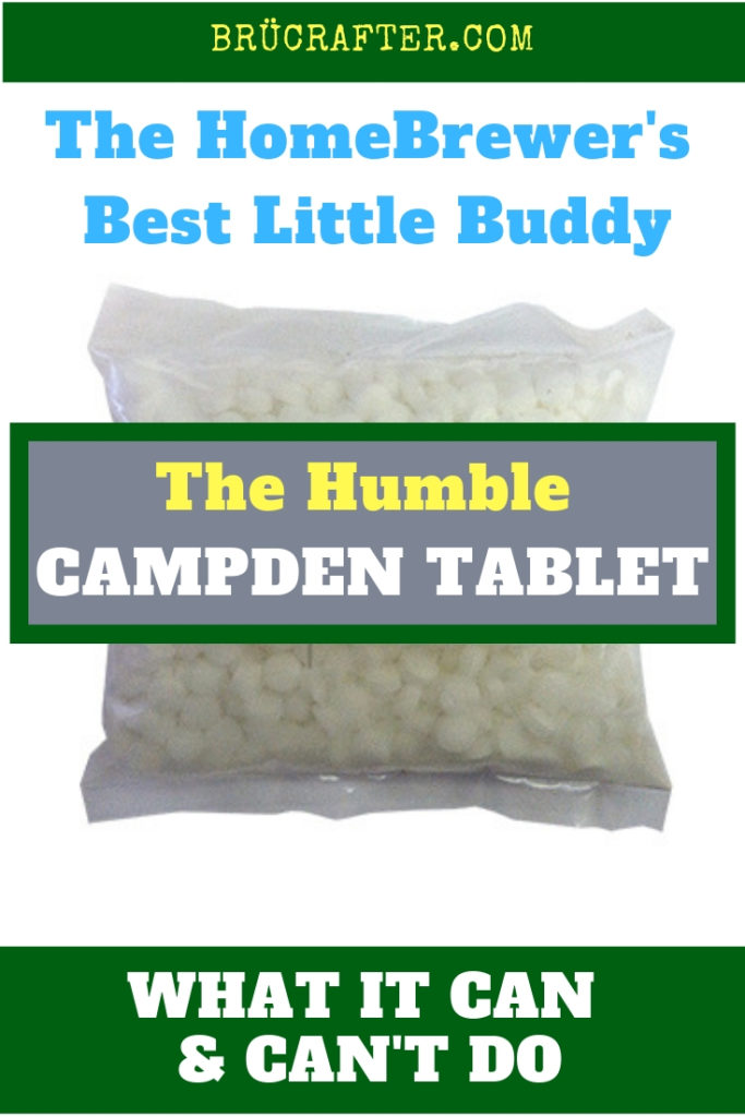 The Humble Campden Tablet - (How to use Campden for